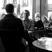 coffee shop chat